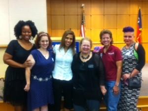 Waning Woman, Shana, Merrill, Dawn, Tammy, Pandora